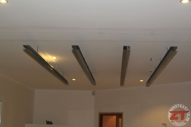 Raliser un plafond suspendu  Maison  Travaux