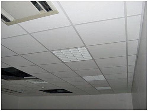 Dalles pour faux plafond suspendu  Maison  Travaux