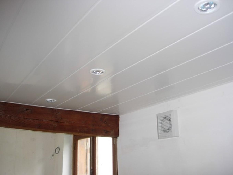 Installation Faux Plafond Pvc Maison Amp Travaux