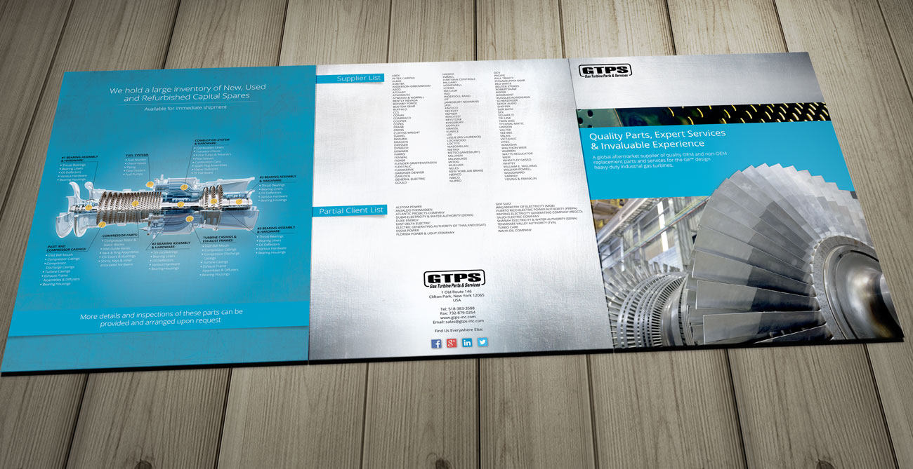 Before And After Industrial Turbine Brochure Brochure