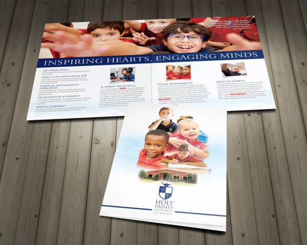 4 Page Private School Brochure - Design Company