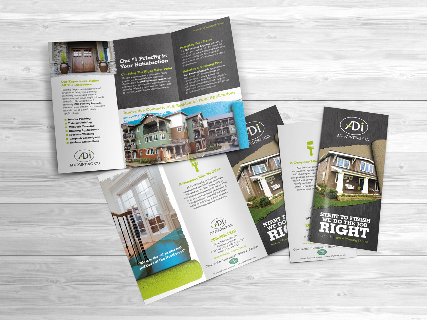 Trifold Brochure Design From Brochurebuilders Com