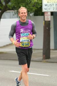Me running in the Seattle Marathon 2010