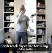 Brock juggling some Skora shoes