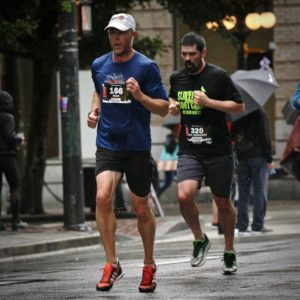 Photo of Brock Running the Eastside 10k