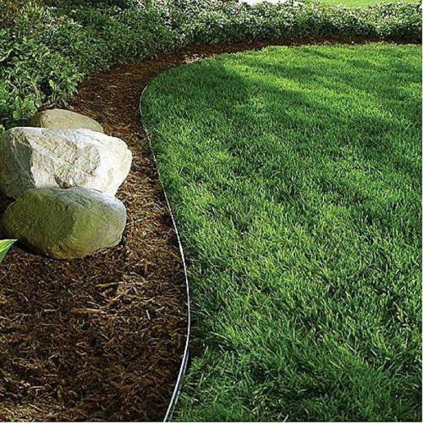 alternative lawn edging . rocke
