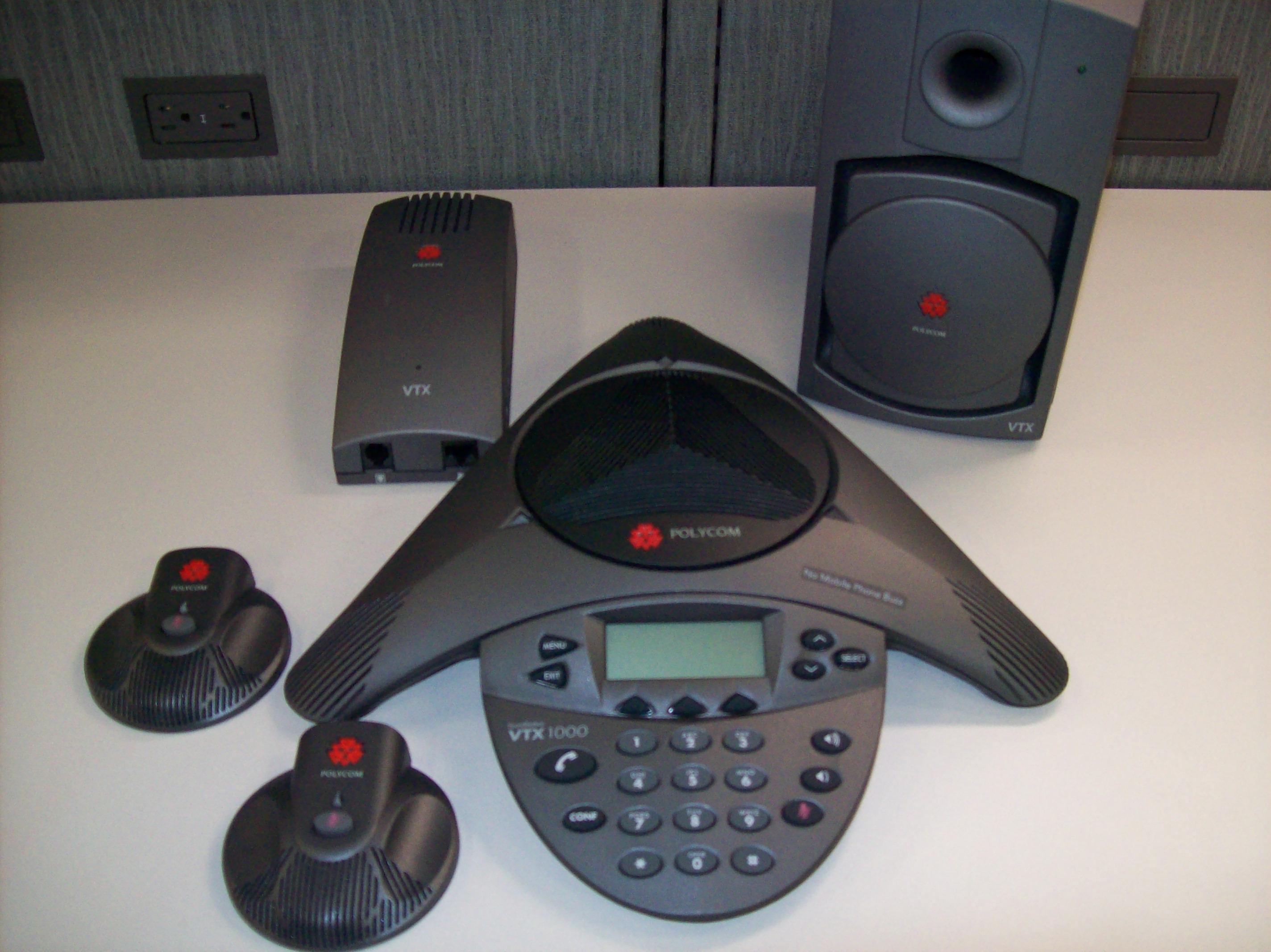 Polycom SoundStation VTX 1000 Interface The College at