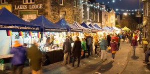 Christmas market Lake District