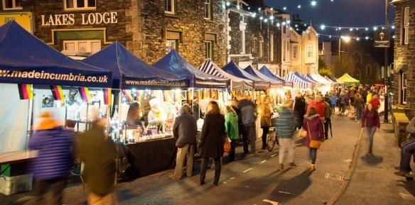 Christmas markets Lake District