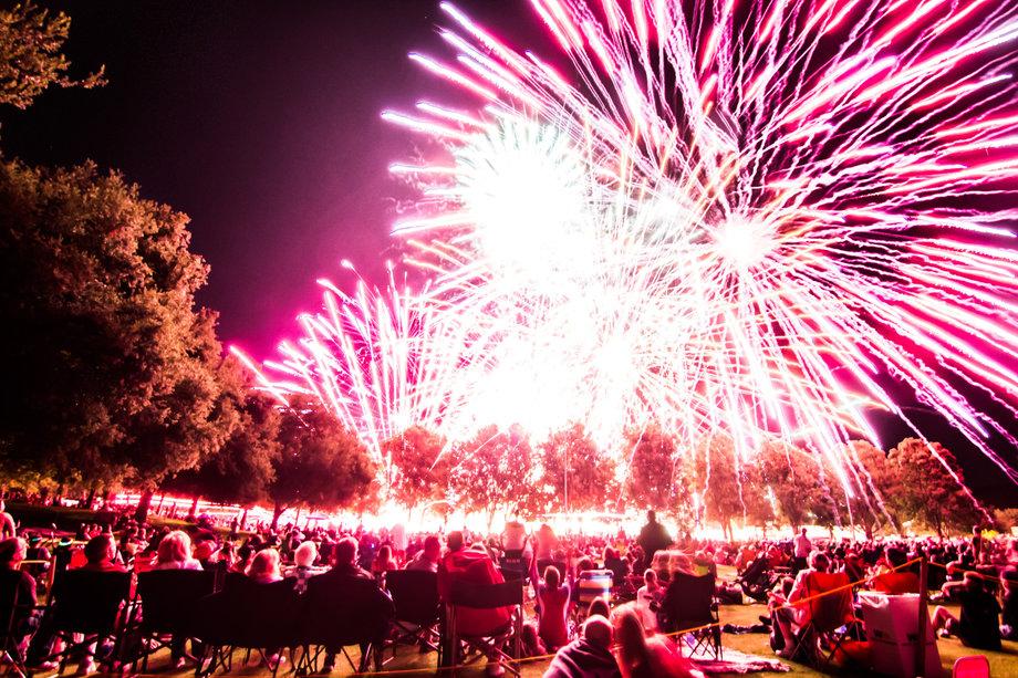 Family Fireworks