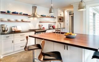 open-concept kitchen by Broderick Builders - Nashville kitchen remodeling