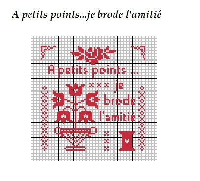 Grille Broderie Point Compt Gratuite