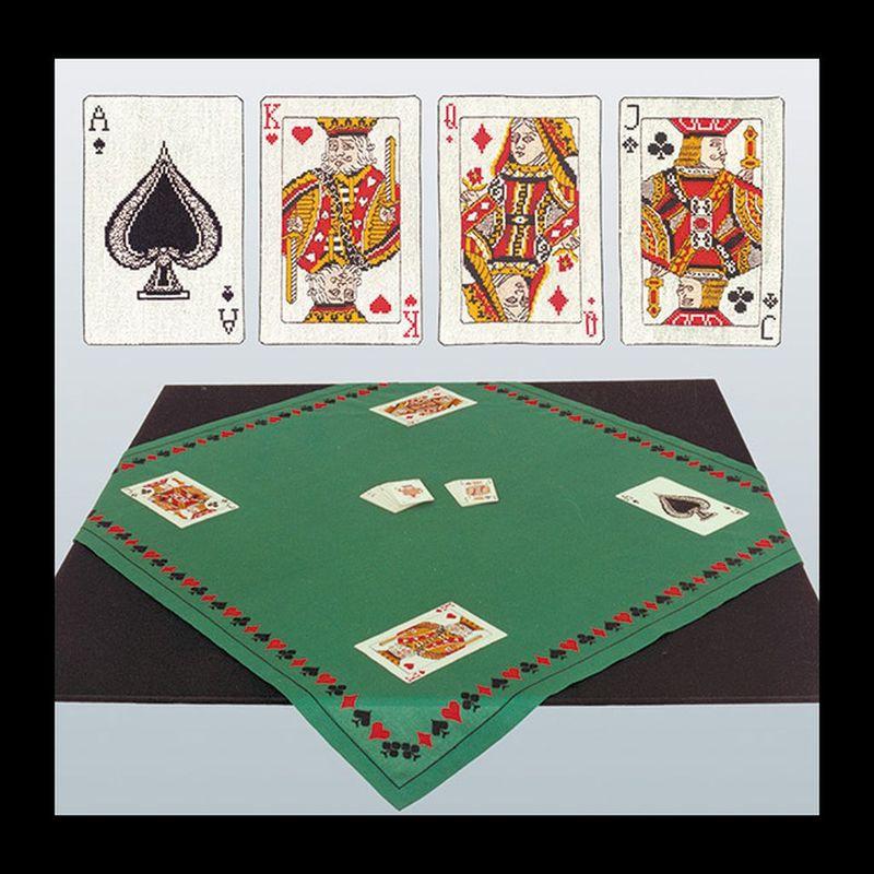 thea gouverneur kit tapis pour jeu de cartes 954 kit broderie kits boutique broderie du monde