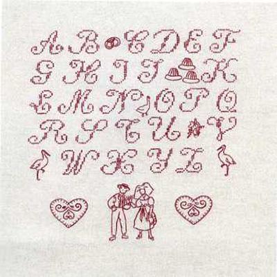 broderie alphabet