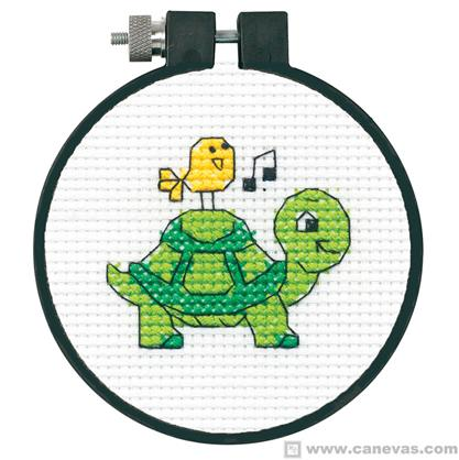 broderie tortue