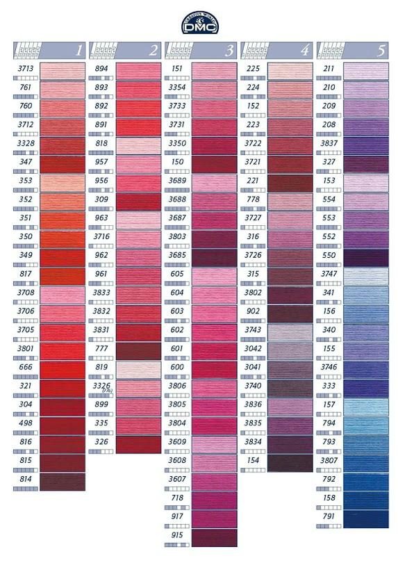 coloris dmc