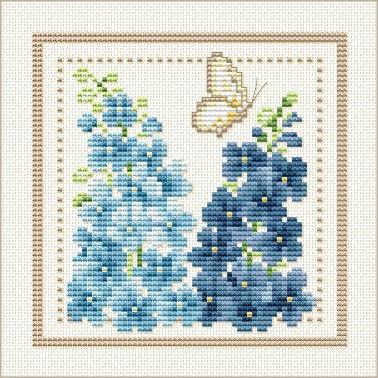 cross stitch free patterns flowers