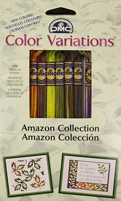 dmc color variations floss