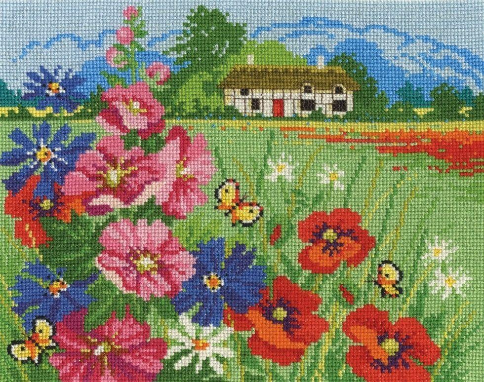 dmc cross stitch