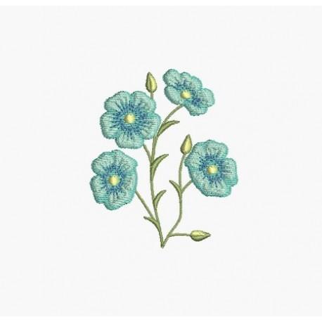 fleur broderie