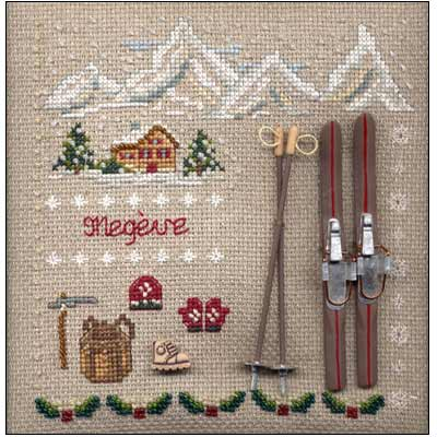 kit broderie point compte