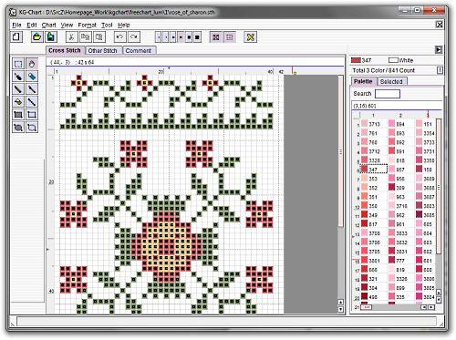 logiciel de point de croix