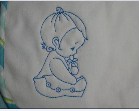 modele broderie bebe gratuit