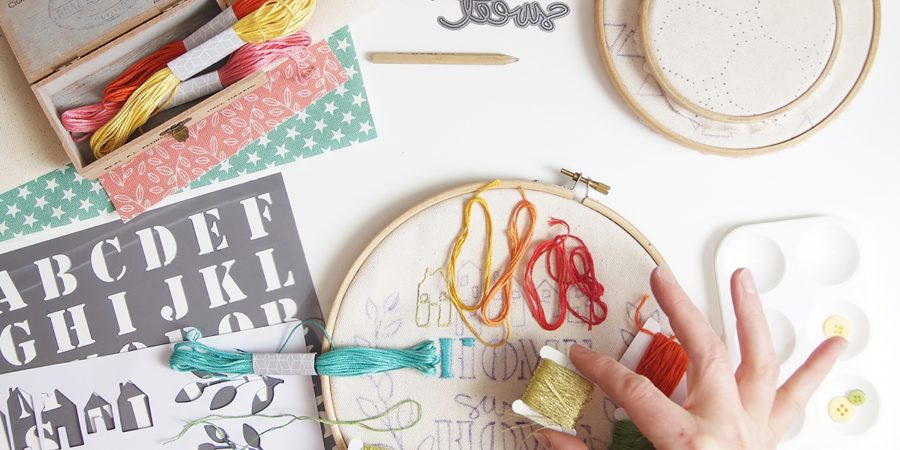 photo broderie