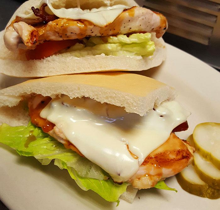chicken teriyaki pocket sandwich brodies seaport restaurant salem ma