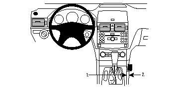 Brodit ProClip 833995 für Mercedes Benz C-Klasse (180-320
