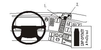 Brodit ProClip 853136 für Volvo FH / FM / NH Serie