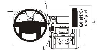 Brodit ProClip 853572 für Land Rover Discovery 3 / Land