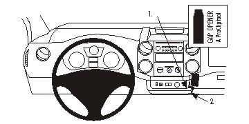 Brodit ProClip 854973 für Citroen Berlingo Family