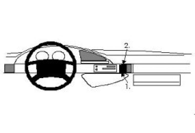 Brodit Proclip Citroen Evasion 95- angled etc