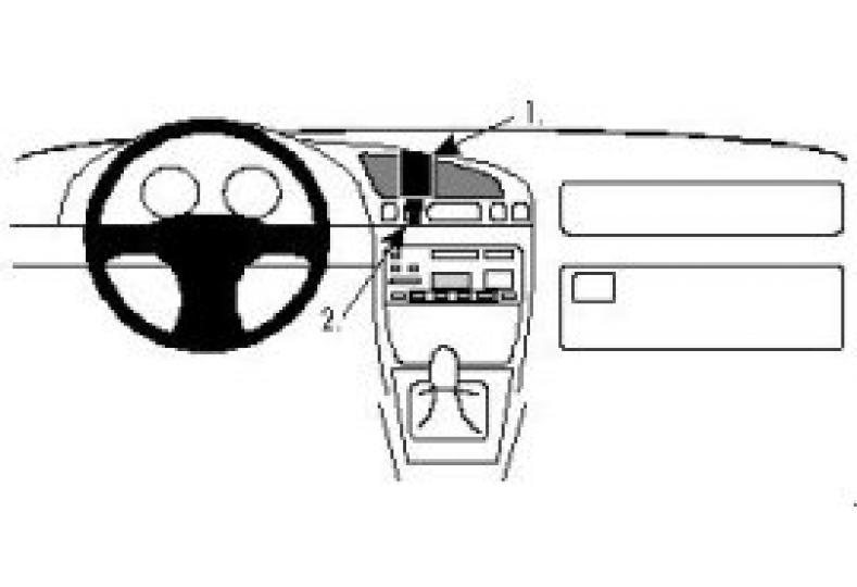 Brodit Proclip Ford Fiesta 96-/ Mazda 121 96
