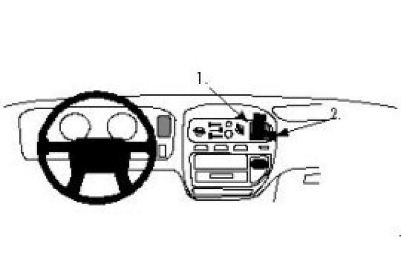 Brodit Proclip Mitsubishi Space Gear/L400 95