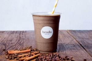 Coffee Colada Broth Smoothie