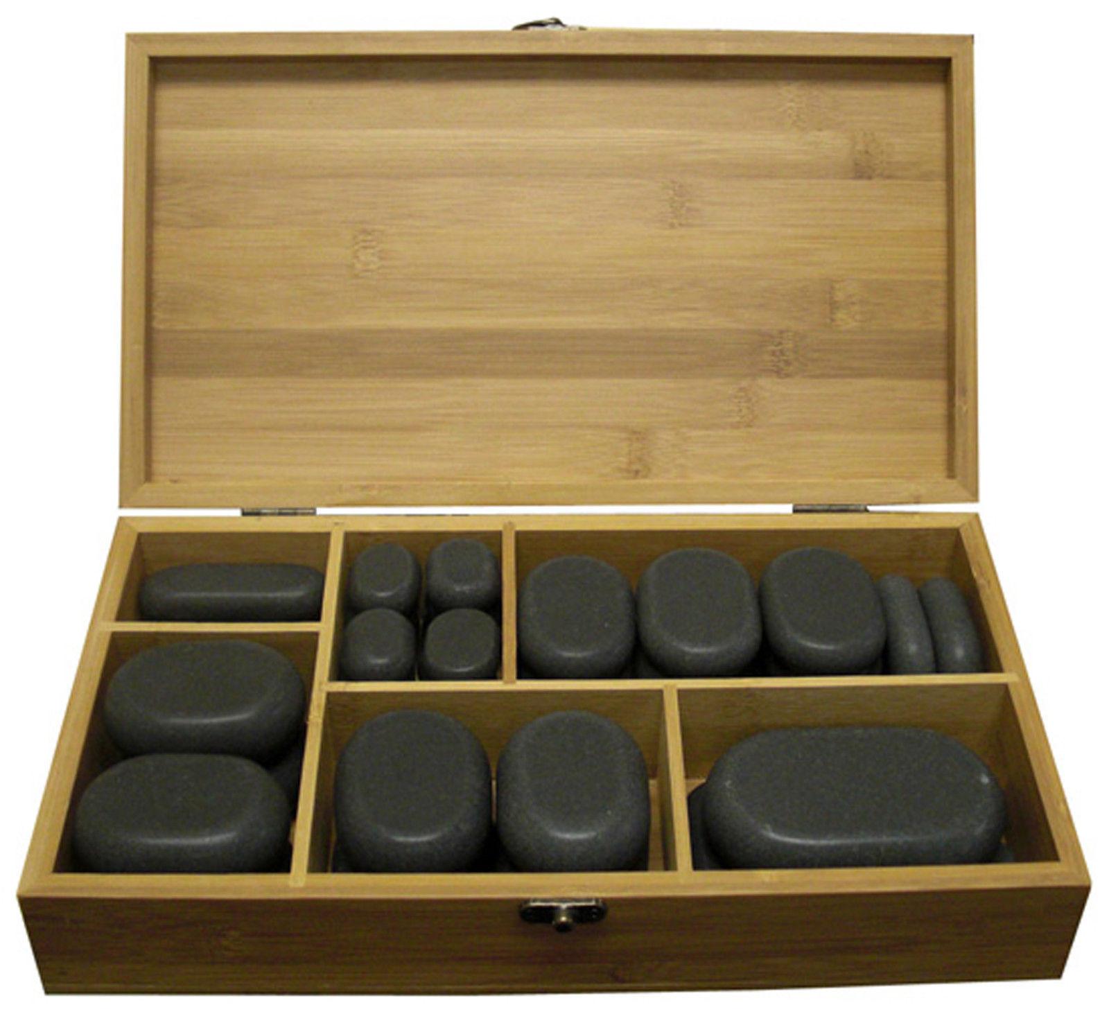 Hot Stone Massage Kit 45 Pcs  Brody Massage