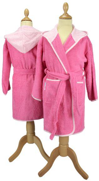 Badrock junior rosa/rosa med personlig brodyr