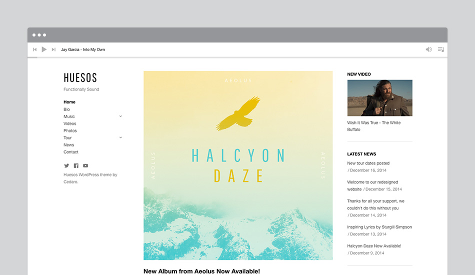 Behind the Scenes of the Huesos WordPress Theme