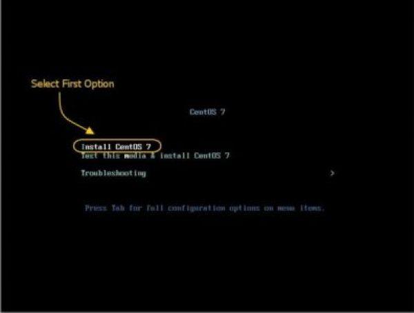 How to Install CentOS 7