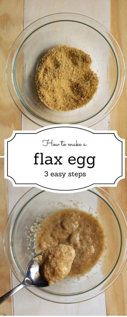 How to make a flax egg - This fun tutorial shows you how to make a flax egg in just 3 short easy steps.This is the perfect egg substitute. -Idrisstwist.com