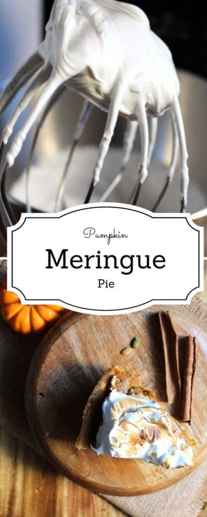 Pumpkin Meringue Pie - Being a huge fan of lemon meringue pie, I decided to lift up the humble pumpkin pie to a new level : Pumpkin Meringue Pie Level -IdrissTwist