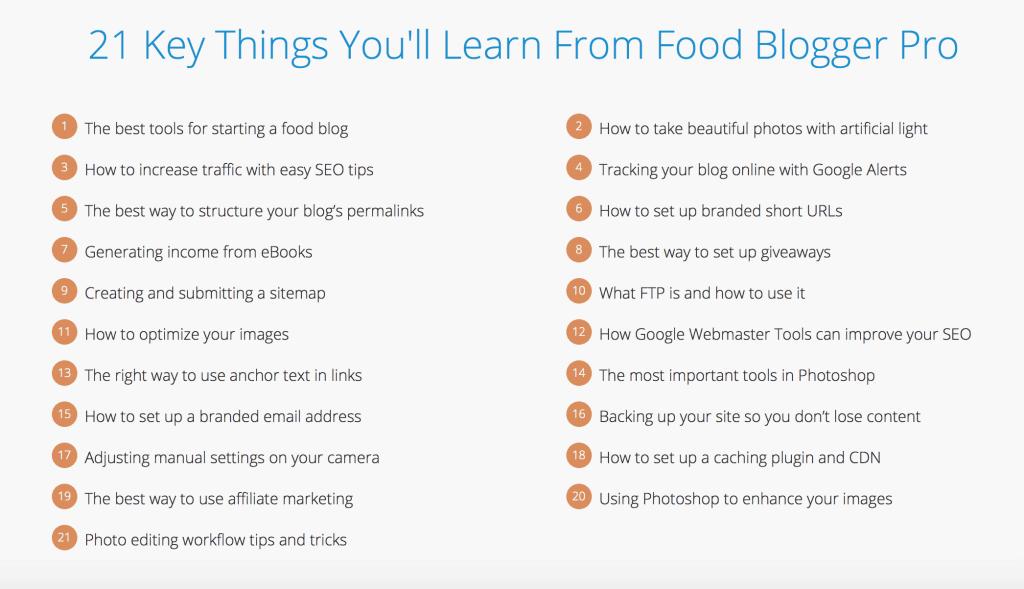 FoodBlogger Pro