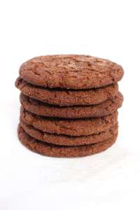 Vegan Ginger Snaps - Easy, Chewy, Delicious vegan ginger snap cookies
