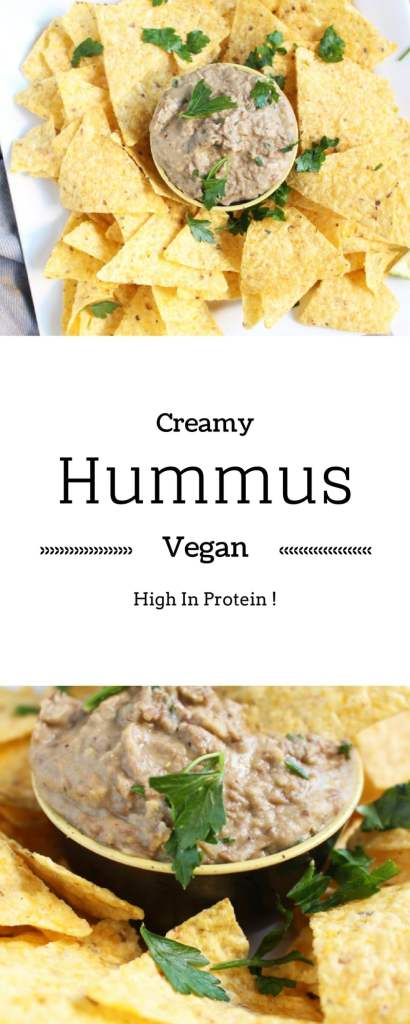 Easy, Rich, Vegan Lentil Hummus Recipe. With a twist !