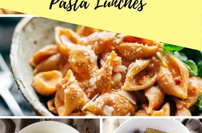 5 Amazing Vegan Pasta Lunches !