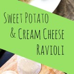 Sweet Potato and Cream Cheese Ravioli - Get your pasta on with this easy to make, and super creamy ravioli recipe. The secret to it ? A good old foreign wrapper! Check it out.