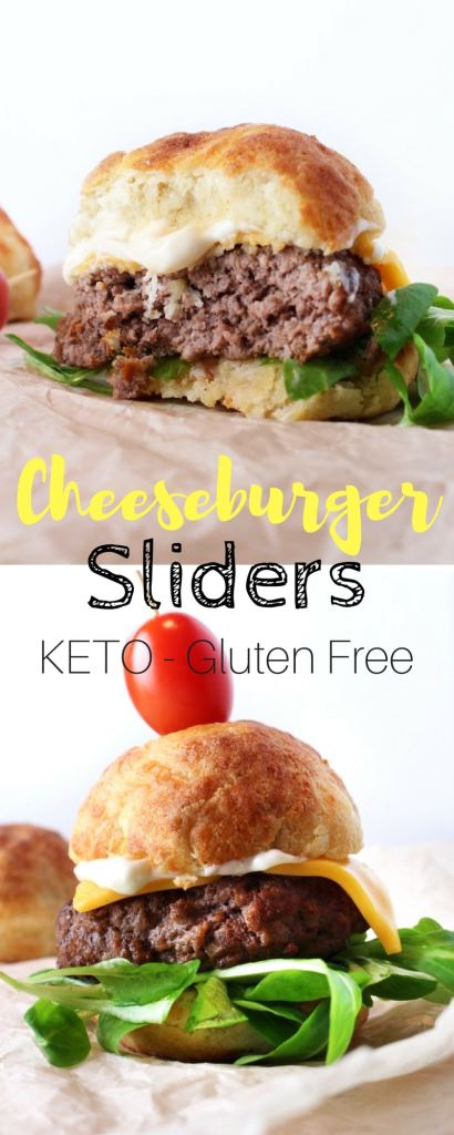 Keto Cheeseburger Sliders - Want to have a burger without cheating on your keto diet? This is it, a perfect Keto Cheeseburger slider that will leave you satiated and happy.