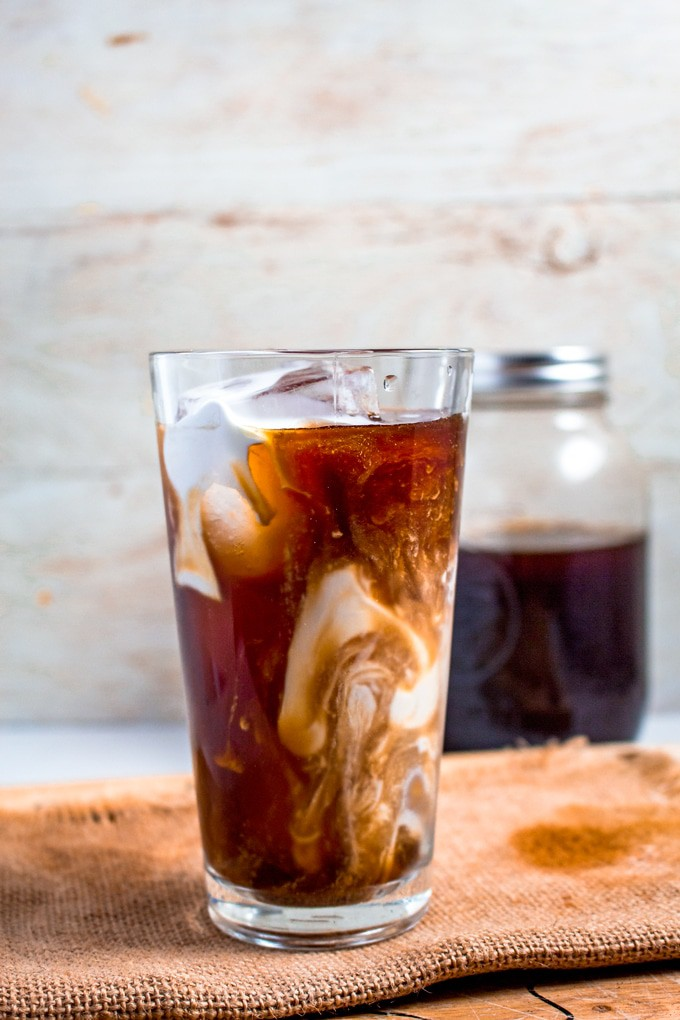 Cold Brew Coffee | This refreshing coffee is made using a classic cold brew technique and made to fit within your low-carb/Keto lifestyle.